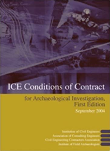 Ice Conditions Of Contract For Archaeological Investigation