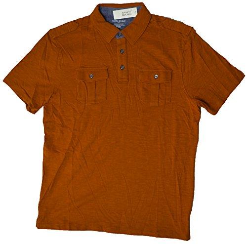 banana-republic-mens-short-sleeve-military-style-polo-shirt-x-large-orange