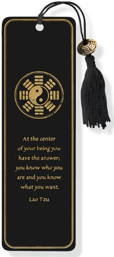 Yin Yang Beaded Bookmark from Brand: Peter Pauper Press