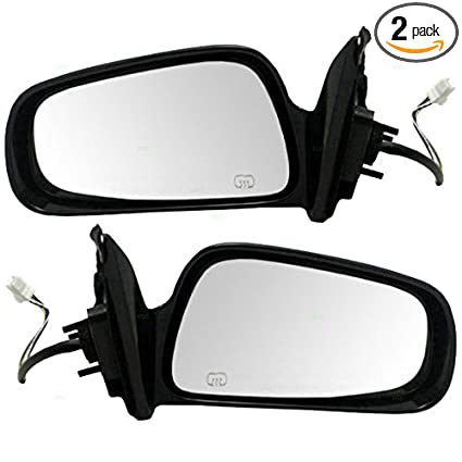 e4b2abbfe6 Amazon.com  Driver and Passenger Power Side View Mirrors Heated ...