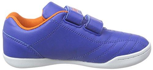 Kappa Kick K - Zapatillas Unisex niños Azul - Blau (6044 BLUE/ORANGE)