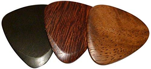 US Blues T3-Electric Samplers Tone Wood Trilogy Electric Guitar Picks - Electric Guitar Wood Tone
