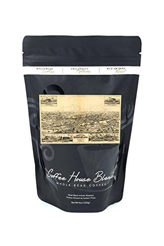 Longwood Florida (Longwood, Florida - Panoramic Map (8oz Whole Bean Small Batch Artisan Coffee - Bold & Strong Medium Dark Roast w/ Artwork))