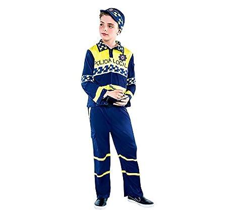 Disfraz de Policía local para niño: Amazon.es: Juguetes y juegos