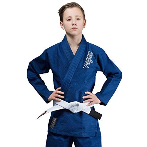 Venum Contender Kids BJJ GI - Blue-C0, Blue, C0