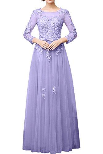 Ivydressing -  Vestito  - linea ad a - Donna Lila 40