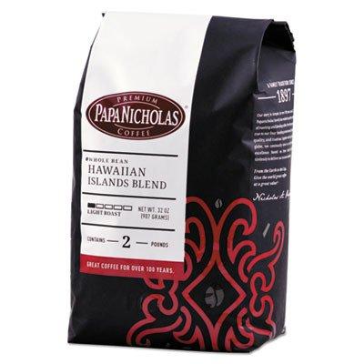 CDM product PAPANICHOLAS COFFEE 32003 Premium Coffee, Whole Bean, Hawaiian Islands Blend big image