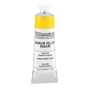 Williamsburg Oil 37Ml Cadmium Yellow Med
