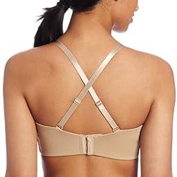 Lilyette by Bali Women\'s Tailored Strapless Minimzer Bra, Body Beige, 36C