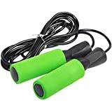 Adjustable Jump Rope with Carrying Pouch