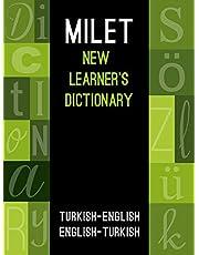 Milet New Learner's Dictionary: Turkish-English & English-Turkish