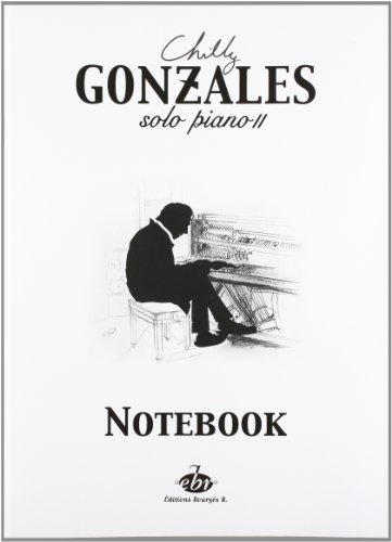 Chilly Gonzales: Solo Piano II - Notebook (Gonzales Store)