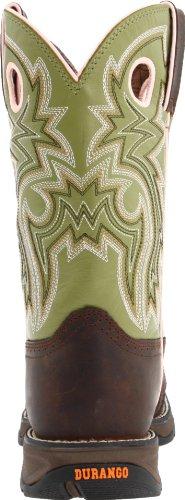 Women's Durango Square Toe Western Boots BROWN 9.5 M by Durango (Image #2)