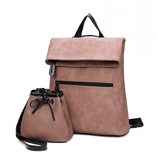 Unisex Classic Oxford Textile Backpack Shoulder Bag Parent-child