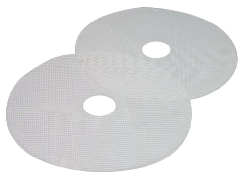 Nesco 4 Tray Food Dehydrator - Nesco MS-2-6 Clean-a-Screen for Dehydrators FD-1010/FD-1018P/FD-1020, Large, Set of 2