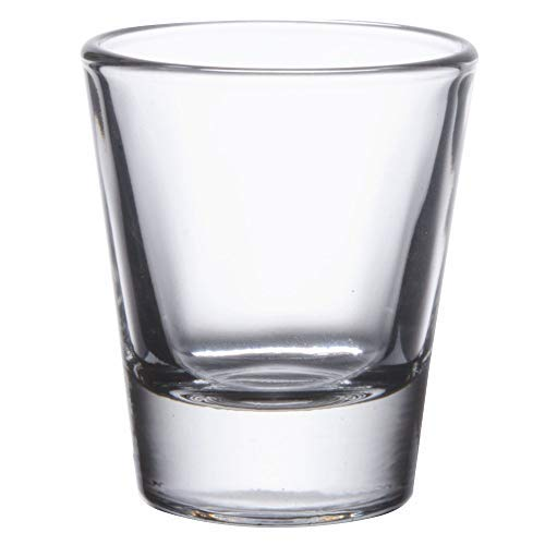 Gmark 1.5-Ounce Heavy Base Shot Glass Set, Whiskey Shot Glass 12-Pack GM2011 ()