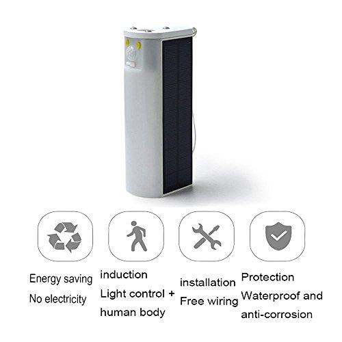 YAYONG Solar Induction Lamp Outdoor Travel 30pcs Infrared Induction Led Solar Induction Wall Lamp Usb Charging,17.775.6cm by YAYONG