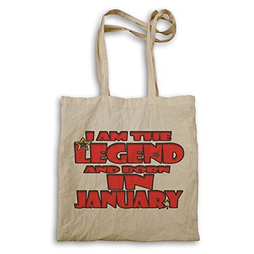 Ich Bin Die Legende Geboren Januar Tragetasche s240r