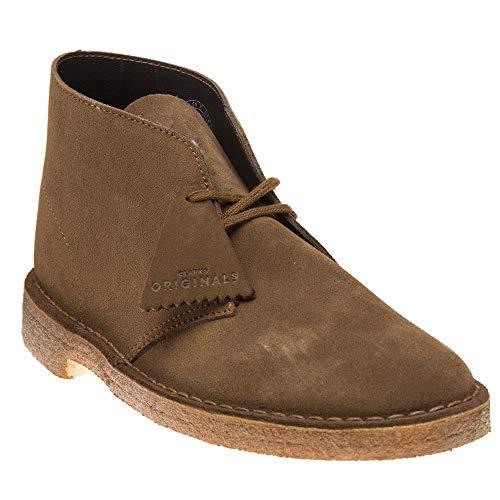 Clarks Suede Boots - CLARKS Originals Mens Desert Boot Suede Cola Boots 10 US