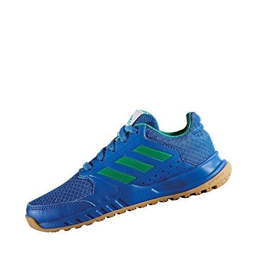 Chaussures junior adidas FortaGym azul / blanco
