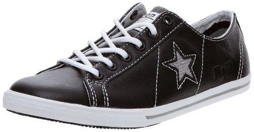 Converse OS PRO LO OX 121615 - Zapatillas de cuero unisex Negro