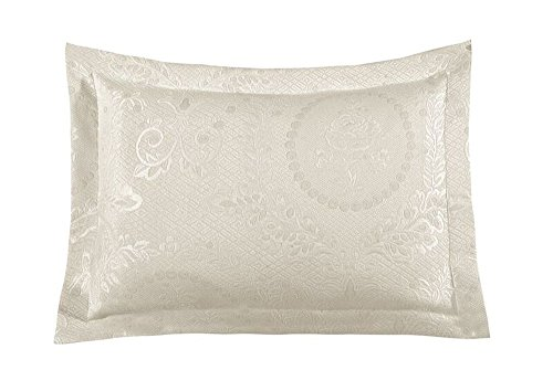 Kensington Matelasse Sham, King, Antique Antique Rose Pillow Sham