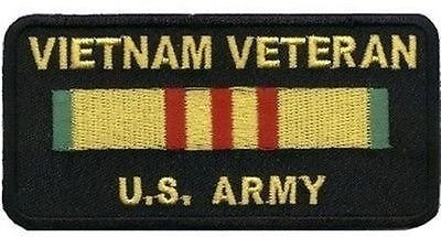 (Vietnam Veteran ARMY VET Military POW War MC Club Biker Vest Patch PAT-1971 )