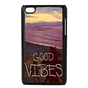 DIY High Quality Case for Ipod Touch 4, Good Vibes Phone Case - HL-504896 hjbrhga1544