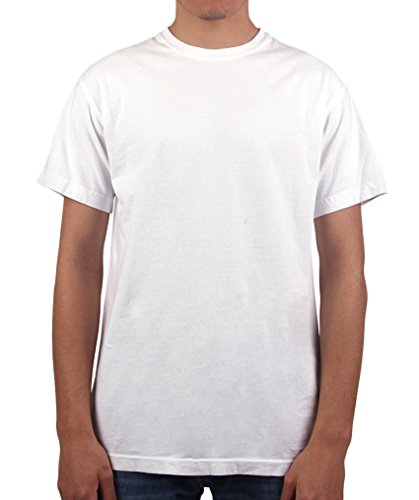- Have It Tall Men's T Shirt Premium Ringspun Cotton Made In USA  White 6XLT