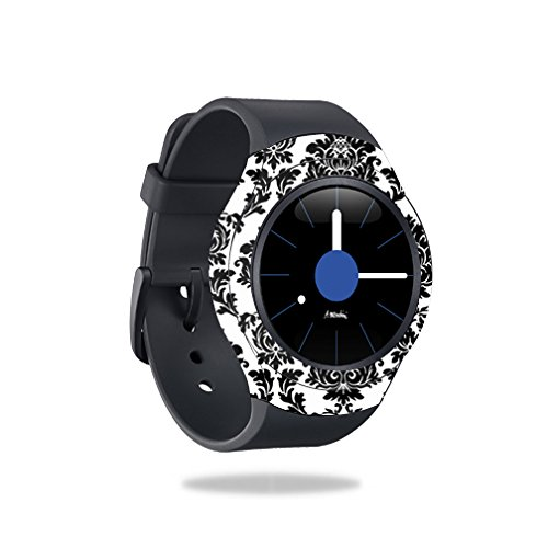 MightySkins Skin Compatible with Samsung Gear S2 Smart Watch Cover wrap Sticker Skins Vintage Damask by MightySkins