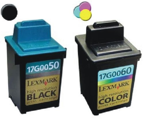 Take4Less 2-pack (B+C) 17G0050 17G0060 50 60 Lexmark Compatible ink