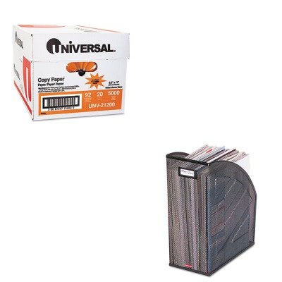 KITROL62560UNV21200 - Value Kit - Rolodex Nestable Rolled Mesh Steel Jumbo Magazine File (ROL62560) and Universal Copy Paper (UNV21200)