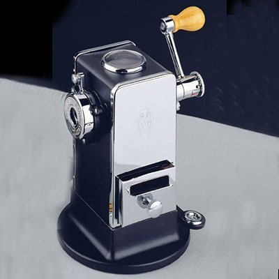 El Casco Pencil Sharpener With Base Side / Load Black And Chrome M-430CN by El Casco by El Casco