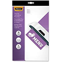 Laminating Pouches, 3mil, 12 x 18, 25/Pack, Sold as 2 Package