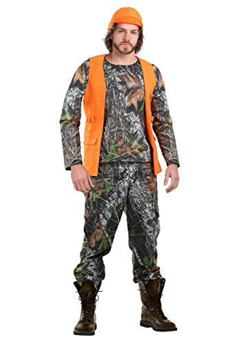 Adult Camo Hunter Costume Large -