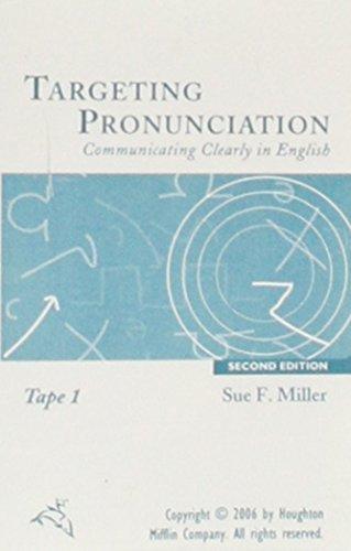 Targeting Pronunciation Audio Tape