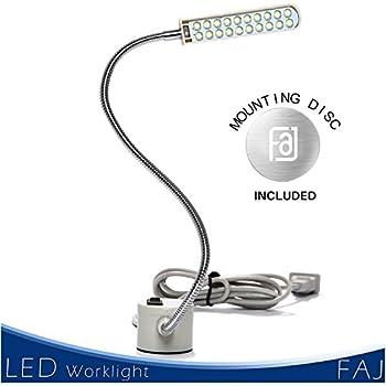 Gooseneck Flexible Arm Led Light Lamp Illuminator For