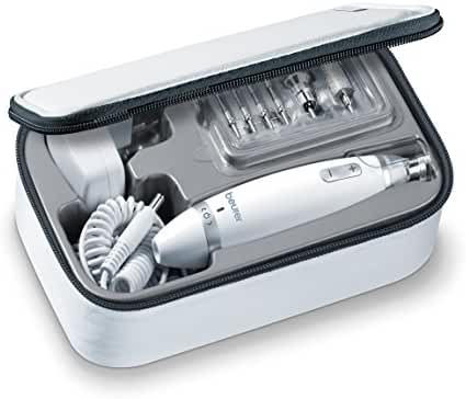 Beurer Electric Manicure & Pedicure Kit With Powerful Nail Drill and 10 Attachment System