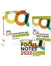 Wiley CIA 2022 Part 2: Exam Review + Test Bank + Focus Notes, Practice of Internal Auditing Set