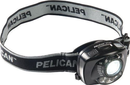 Pelican 2720 LED 200 Lumen Headlight with Gesture Activation Control, White]()
