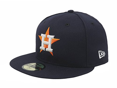Navy Authentic Collection - New Era 59FIFTY Houston Astros Navy MLB 2017 Authentic Collection On Field Home Fitted Cap Size 7 1/8