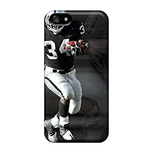 Iphone 5/5s Case, Premium Protective Case With Awesome Look - Oakland Raiders