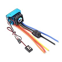 Waterwood 120A ESC Sensored Brushless Speed Controller For 1/8 1/10 Car/Truck Crawler