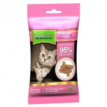 Natures Menu Cat Treats Chicken & Liver 60g