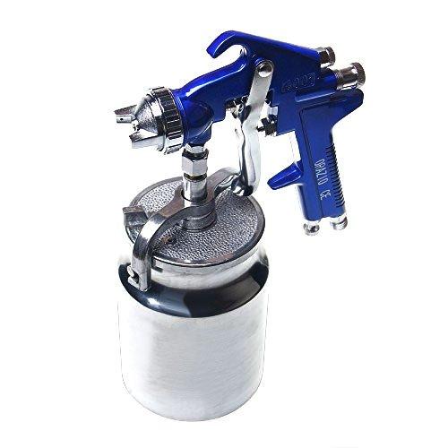 221265 Pistola a Spruzzo Alta Pressione per Vernice Automobile Camion Mobili tipo a Ventosa 1.8mm Merry Tools