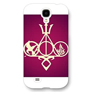 UniqueBox - Customized White Frosted Samsung Galaxy S4 Case, The Hunger Games Samsung S4 case, Only fit Samsung Galaxy S4
