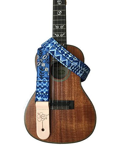 sherrins-threads-15-hawaiian-print-ukulele-strap-ocean-tapa