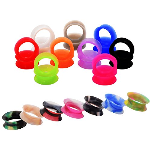 dm-jewelry-32-pcs-mixed-colorful-thin-silicone-acrylic-2g-3-4-tunnel-plug-expander-piercing-00g10mm