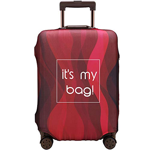 Luggage Cover Anti-scratch Baggage Cover Protector Washable Dust Thicken Elasticity Cover Travel for 18-32inch Luggage