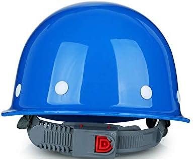 135b2a8eb3a1d Casco Casco de construcción-Duro Sin ventilación Sombrero de seguridad  Equipo de protección personal Casco de trinquete de 4 puntos Casco ajustable  ...